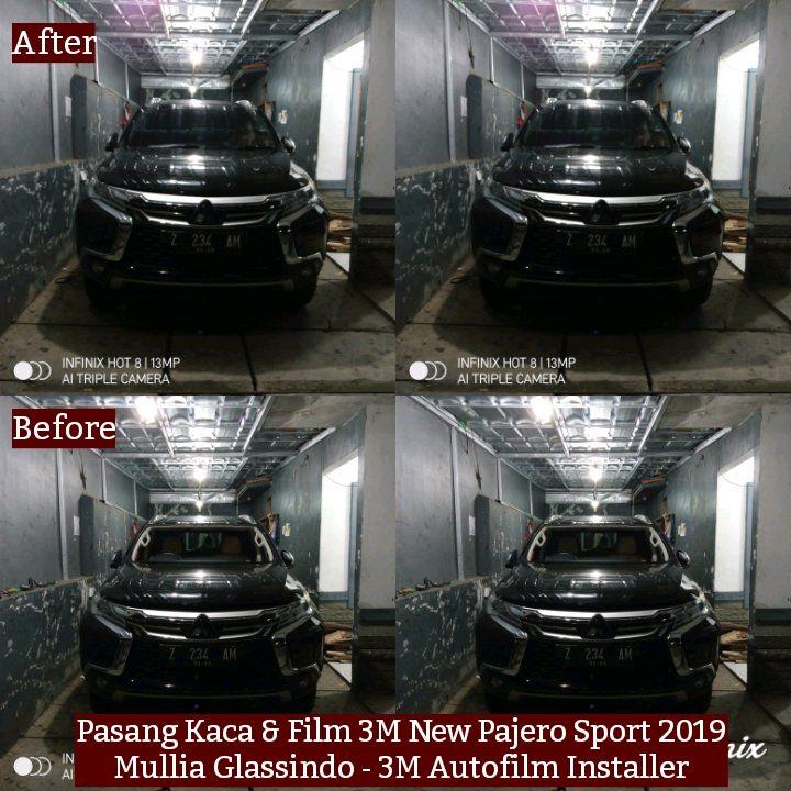 Pemasangan Kaca Film 3M Pajero Sport di Bandung (Ujungberung, 8 Maret 2020)