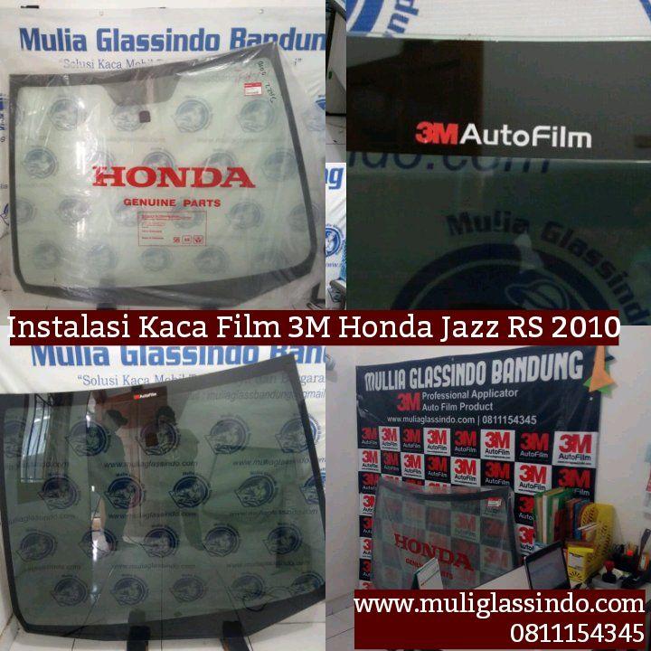 Tempat Recommended Pasang Kaca Film 3M Mobil Honda Jazz di Bandung (Ujungberung,19 Maret 2020)