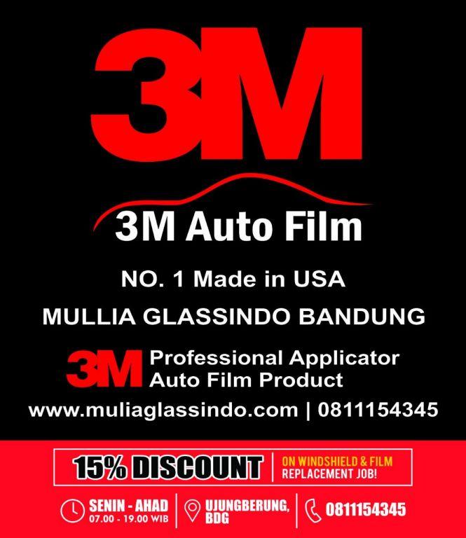 Mullia Glassindo : Spesialis Kaca Film 3M di Bandung Rapih dan Bergaransi