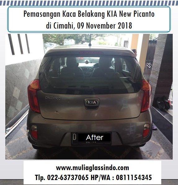 Kaca Belakang KIA New Picanto di Bandung