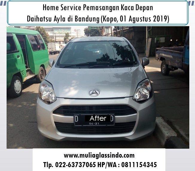 Kaca Depan Daihatsu Ayla di Bandung