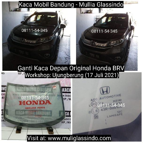 Ganti Kaca Mobil Depan Original Honda BRV di Bandung Cianjur Subang Garut Sukabumi Purwakarta