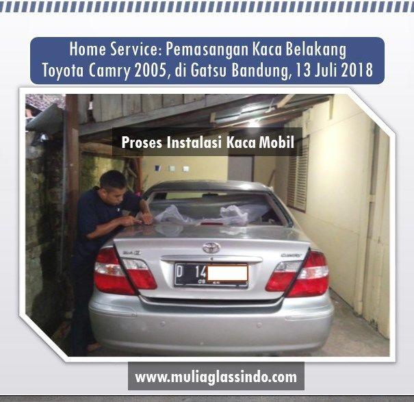 Dimana Tempat Pemasangan Kaca Mobil Camry di Bandung yang murah dan bagus?