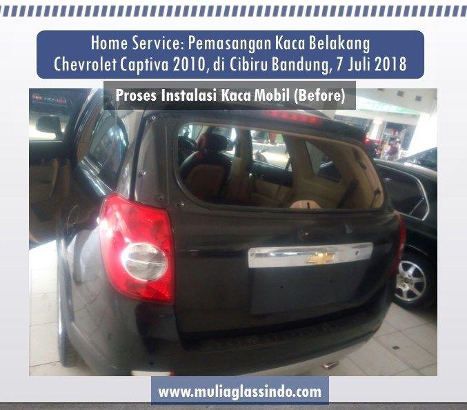 Bengkel Pemasangan Kaca Mobil Chevrolet Captiva di Bandung yang Murah dan Bergaransi