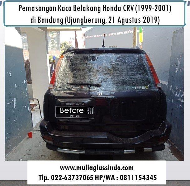 Bengkel Pemasangan Kaca Belakang Honda CRV (1999-2001) di Bandung Bergaransi