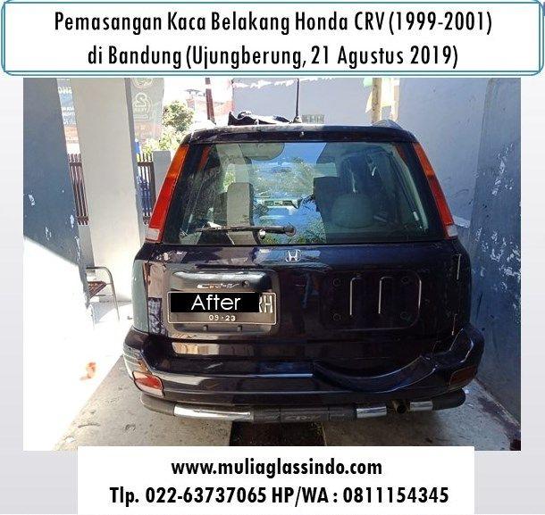 Kaca Belakang Honda CRV di Bandung
