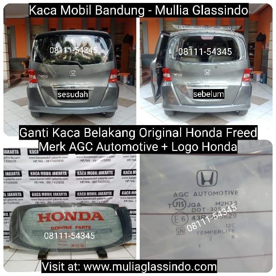 Pemasangan Kaca Belakang Original Honda Freed di Bandung Cianjur Purwakarta Subang Sumedang Garut