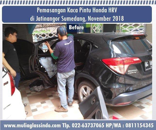 Home Service Pemasangan Kaca Mobil Honda HRV di Sumedang (Jatinangor, November 2018)