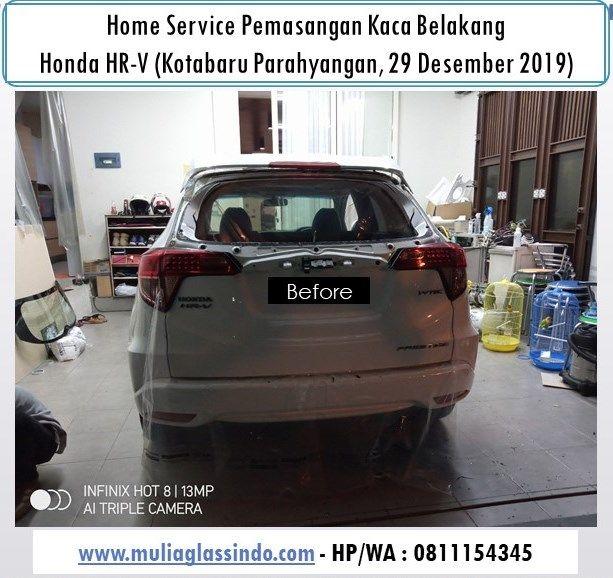 Ganti Kaca Belakang Honda HRV di Bandung Subang Cianjur Sukabumi Purwakarta Garut