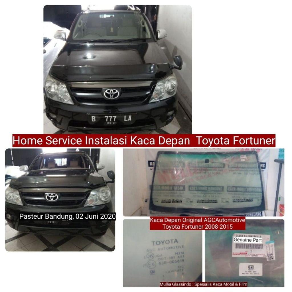 Home Service Pemasangan Kaca Depan Fortuner Original di Bandung (Pasteur, 02 Juni 2020)