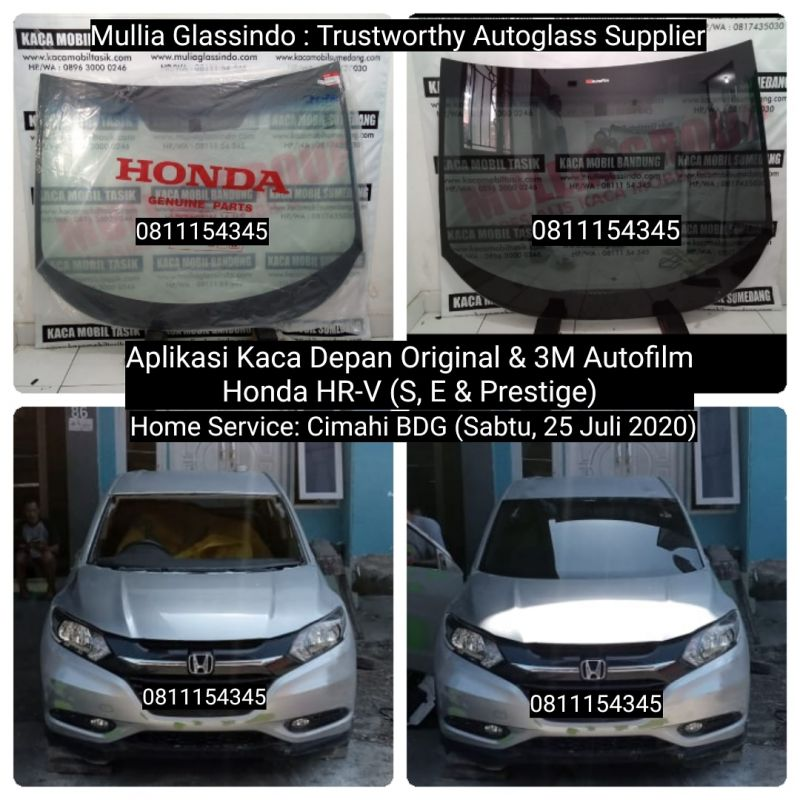 Tempat Ganti Kaca Depan Honda HRV di Bandung Bergaransi dan Terpercaya