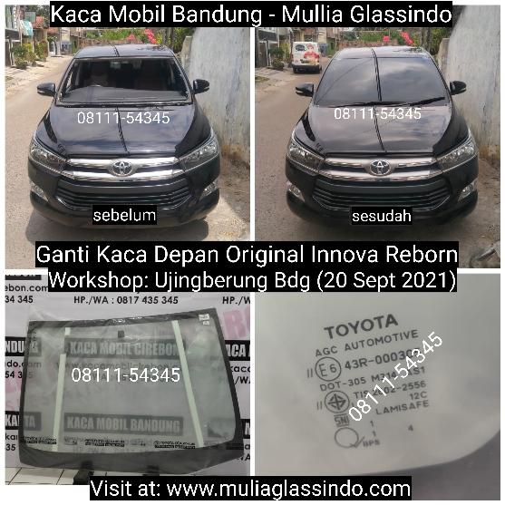 Layanan Ganti Kaca Depan Original Innova Reborn di Bandung Garut Sumedang Subang Cimahi Cianjur