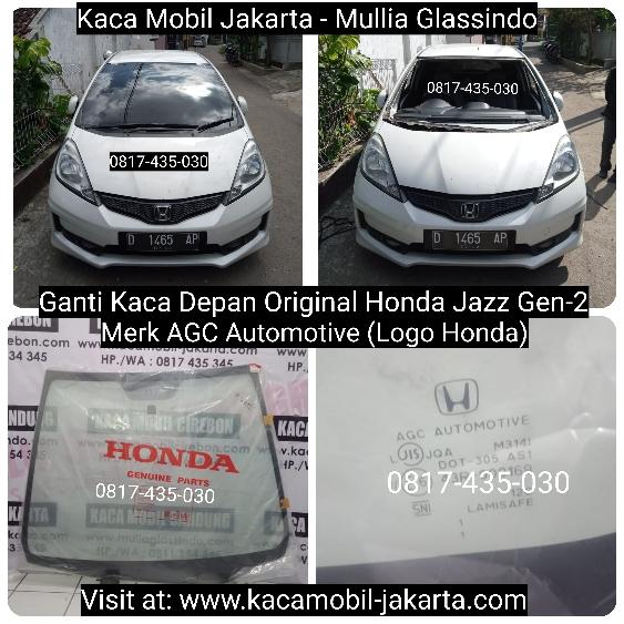Pemasangan Kaca Depan Honda Jazz di Bandung yang Murah dan Bergaransi
