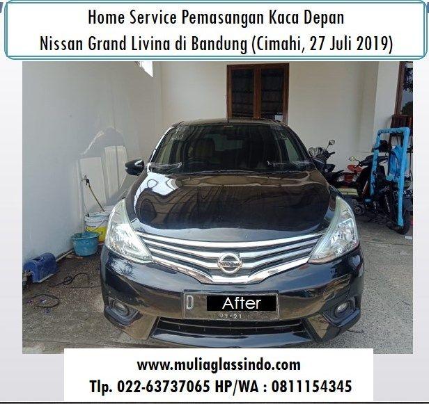 Kaca Depan Nissan Livina di Bandung