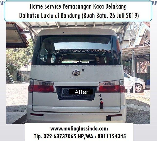 Kaca Belakang Luxio di Bandung