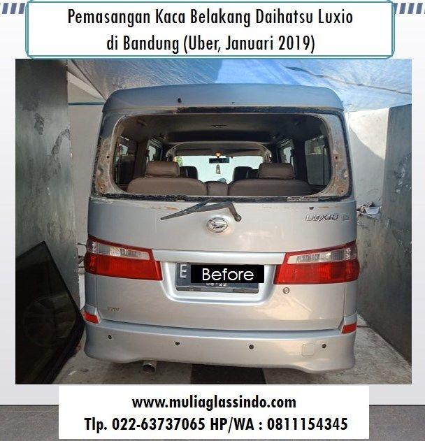 Tempat Ganti Kaca Belakang Daihatsu Luxio Murah di Bandung dan Bergaransi