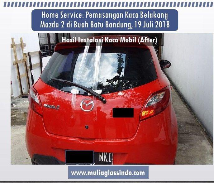 Kaca Belakang Mazda 2