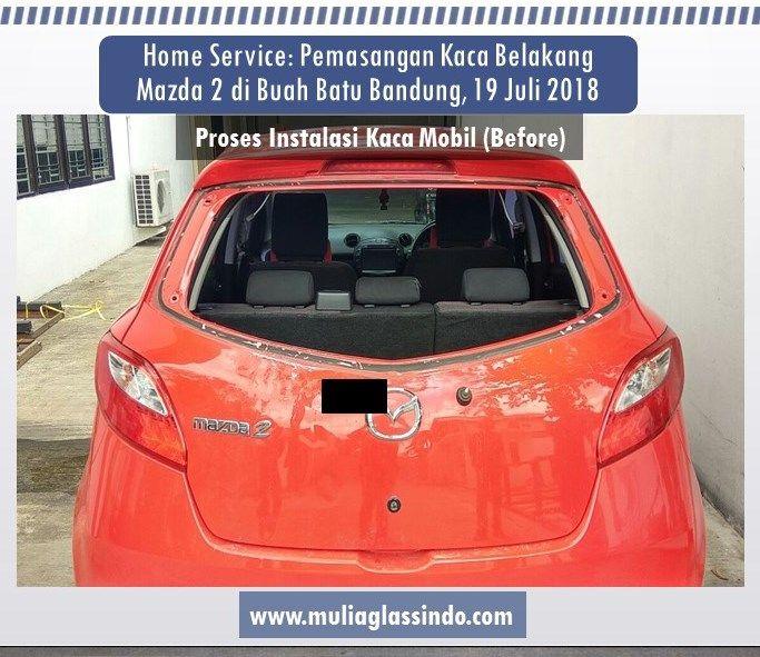 Dimana Tempat Pemasangan Kaca Mobil Mazda 2 di Bandung yang Murah dan bisa Pasang di Rumah?