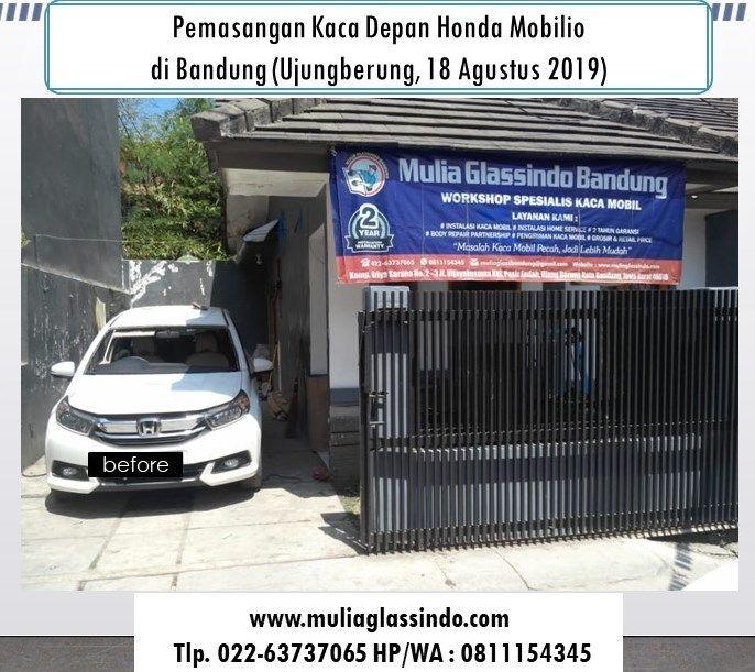 Tempat Ganti Kaca Depan Honda Mobilio di Bandung yang Murah (Uber, 18 Agustus 2019)