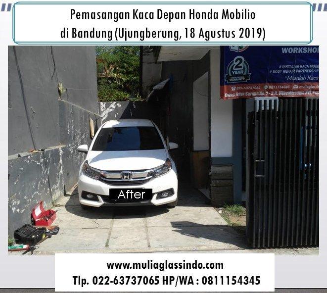 Kaca Depan Honda Mobilio di Bandung