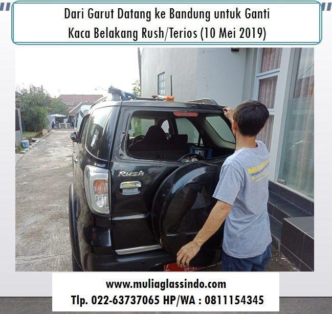 Berangkat dari Garut untuk Ganti Kaca Belakang Rush/Terios di Bandung