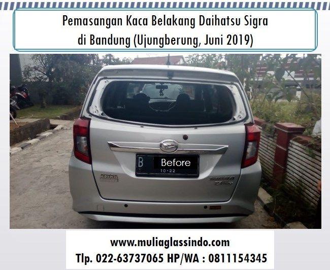 Tempat Ganti Kaca Belakang Daihatsu Sigra di Bandung Murah