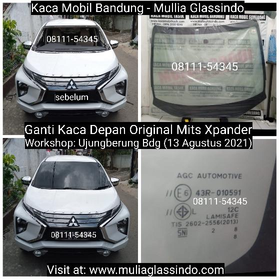 Ganti Kaca Depan Original Xpander di Bandung Cimahi Garut Sumedang Subang Cianjur Sukabumi