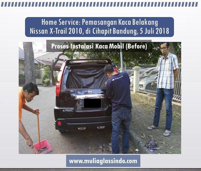 Home Service Pemasangan Kaca Belakang Nissan X-Trail Murah dan Bergaransi di Bandung