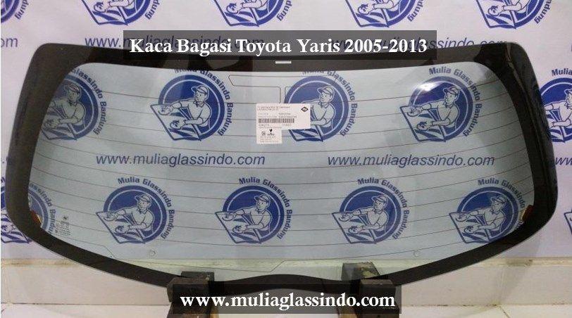 Ready Stok Kaca Belakang Toyota Yaris di Kaca Mobil Bandung Mulia Glassindo
