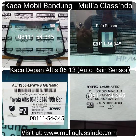 Jual Kaca Depan Mobil Altis di Bandung Purwakarta Subang Cianjur Tasik Garut Sumedang Sukabumi