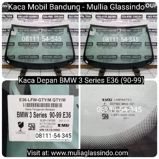 Jual Kaca Depan Mobil BMW E36 di Bandung Subang Tasik Garut Purwakarta Sumedang Cianjur Sukabumi