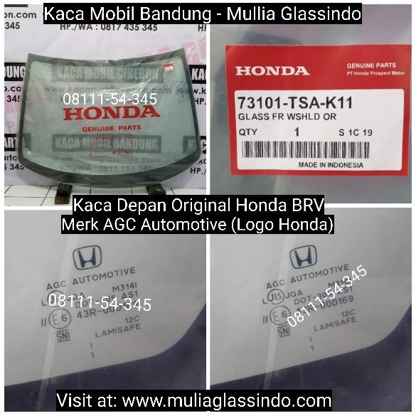 Jual Kaca Mobil Depan Original Honda BRV di Bandung Garut Cianjur Subang Sukabumi Purwakarta