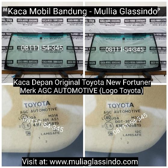 Jual Kaca Depan Original Mobil Toyota Fortuner di Bandung Tasik Garut Ciamis Pangandaran Sumedang