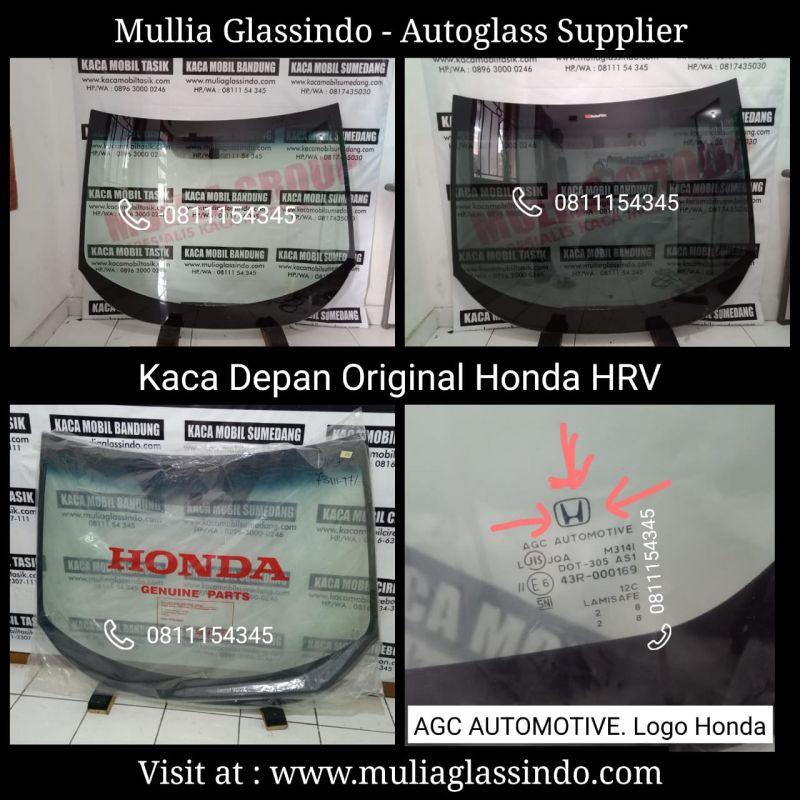 Jual Kaca Mobil Depan Original Honda HRV di Bandung Garut Subang Cianjur Sukabumi Purwakarta