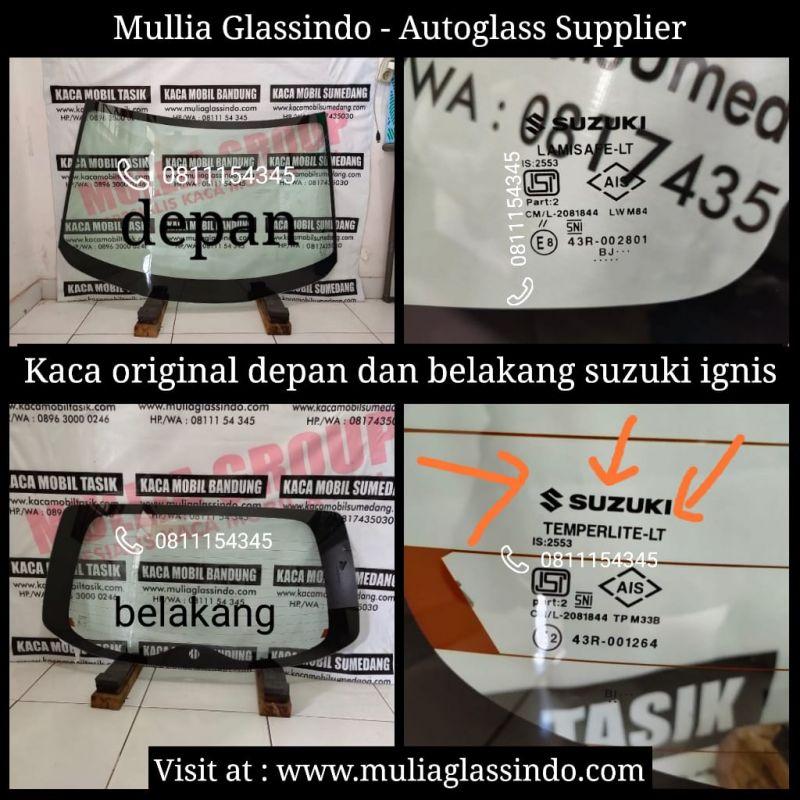 Kaca Belakang Mobil Suzuki Ignis di Bandung Cianjur Sukabumi Purwakarta Tasik Sumedang Subang Garut