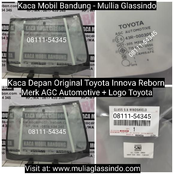 Jual Kaca Depan Original Innova Reborn di Bandung Cimahi Garut Sumedang Subang Cianjur
