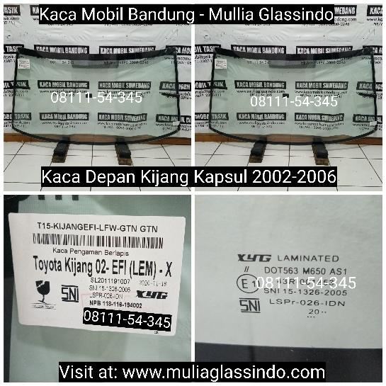 Jual Kaca Depan Mobil Kijang Kapsul di Bandung Tasik Garut Sumedang Cimahi Subang