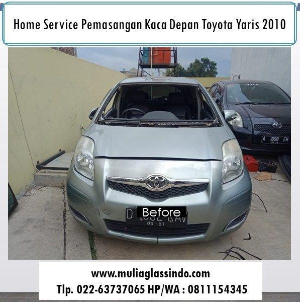 Home Service Ganti Kaca Depan Toyota Yaris di Bandung (Cicalengka, 11 Maret 2019)