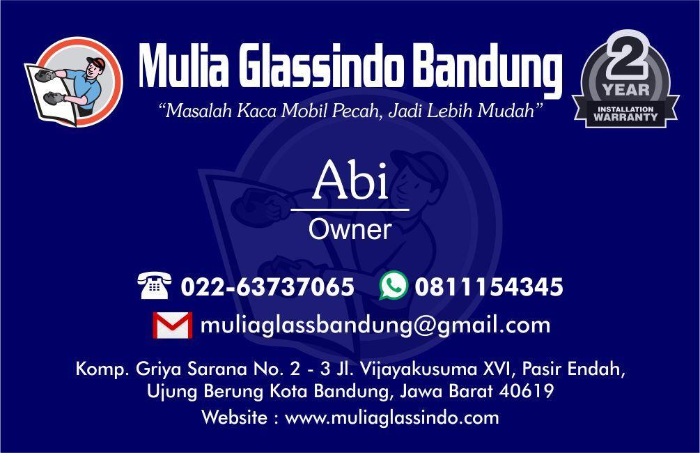 Resmi Dibuka Toko Kaca Mobil Murah di Bandung dan sekitarnya